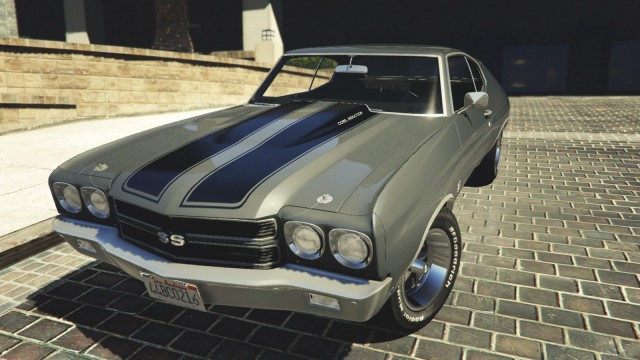 Chevrolet Chevelle 1970 SS v1.1 [Add-On/Replace]